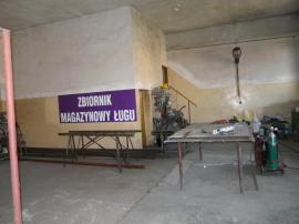 Hala, Warsztat