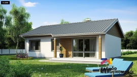 Dom w stanie developerskim na działce 1200m2.