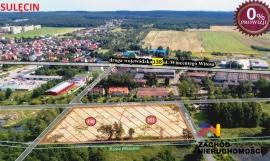 Działka inwestycyjna w Sulęcinie