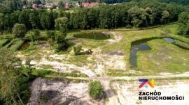 Działka w Sulęcinie z widokiem na stawy i rzekę