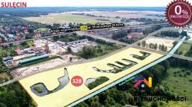 Działka inwestycyjna/budowlana Sulęcin -centrum, uzbrojona, ze stawami i nad rzeką